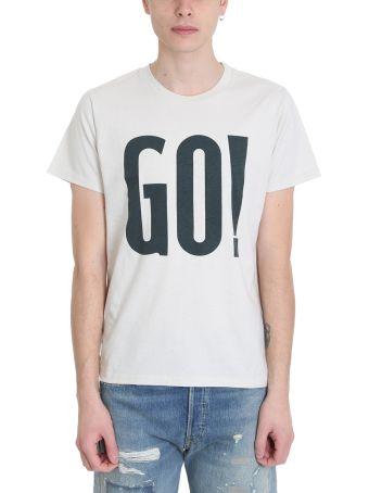Levi's Vintage Clothing Beige Cotton T-shirt