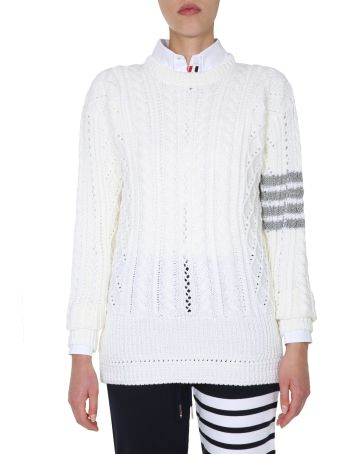 Thom Browne Crew Neck Sweater
