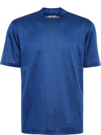 Lanvin Striped Cotton T-shirt