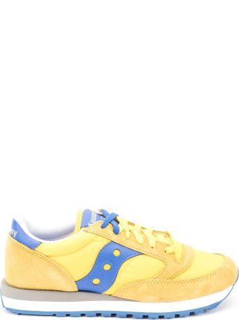 Saucony Saucony Jazz Original Nylon And Suede Sneakers