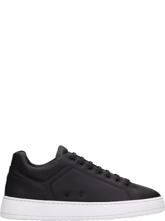 Etq Low 4 Black Leather Sneakers
