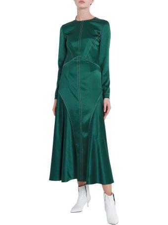 Cedric Charlier Satin Dress