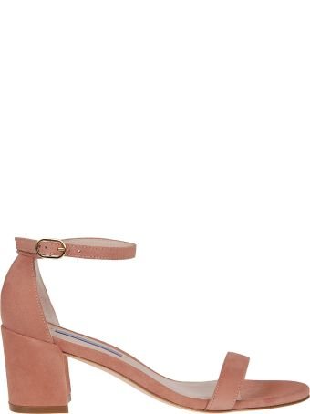 Stuart Weitzman Simple Buckled Sandals