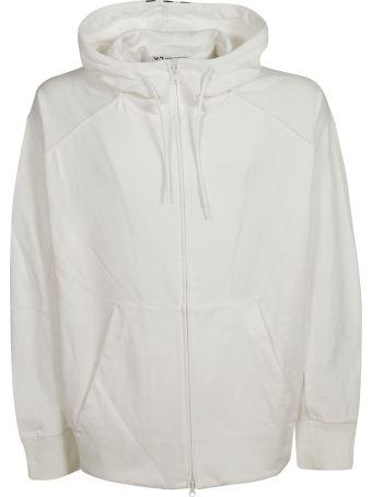 Y-3 Adidas Y-3 Logo Print Hooded Jacket