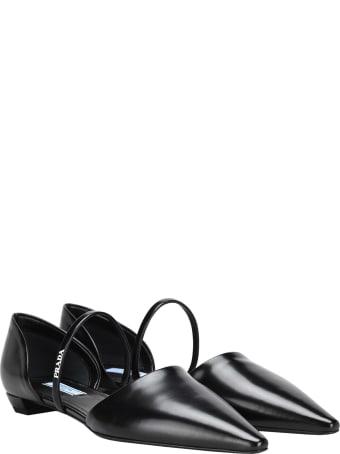 Prada Ballerina Leather