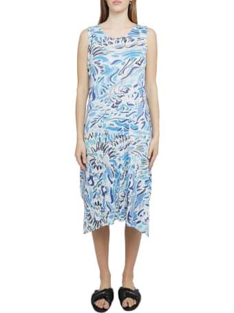 Pleats Please Issey Miyake Pleats Please Multicoloured Playing Dress