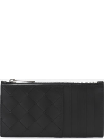 Bottega Veneta Compact Woven Wallet