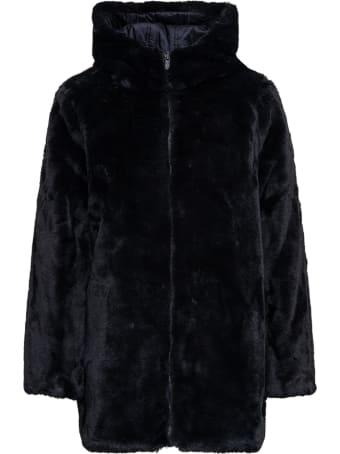Save the Duck Bridge Black Ecoloical Reversible Fur