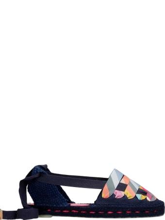 Castañer by Paul Smith Jean C Ps 001 Espadrilles In Blue Canvas