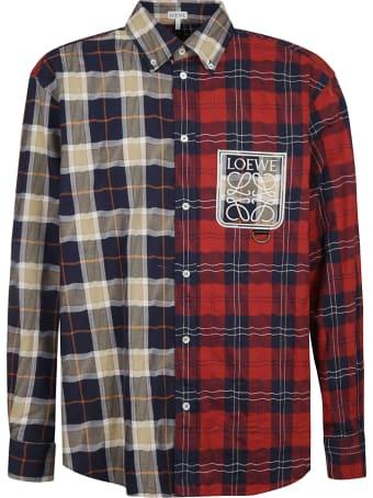 Loewe Logo Check Shirt