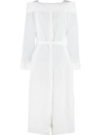 Fendi Linen Maxi Dress