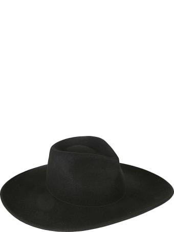 Les Hommes Wide Brimmed Hat