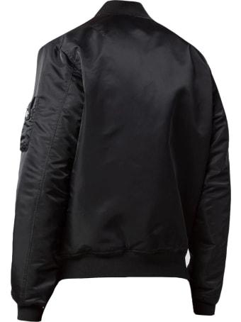 John Elliott Black Bogota Bomber Ii Jacket