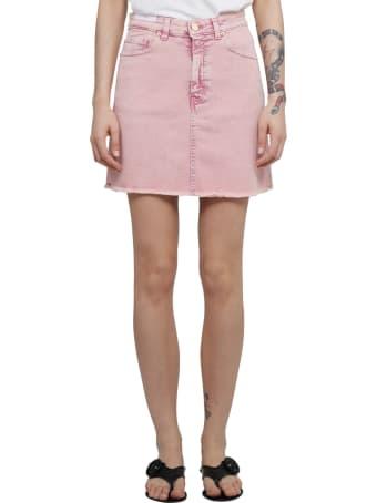 PT01 Pt Torino Pink Ella Skirt