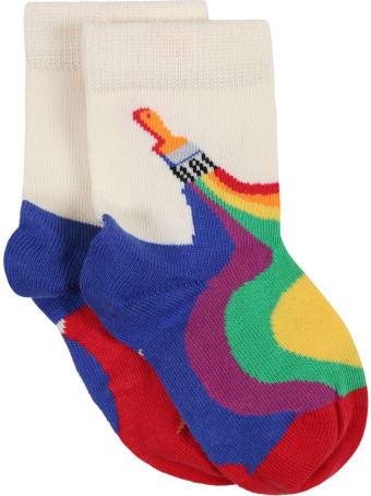 Happy Socks Multicolor Set For Kids