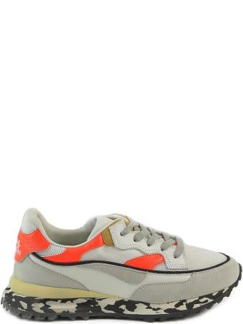 Hidnander Greige/mandarin Women's Sneakers