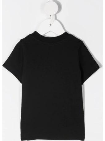 Dsquared2 Newborn Black D2kids Boxer Logo T-shirt