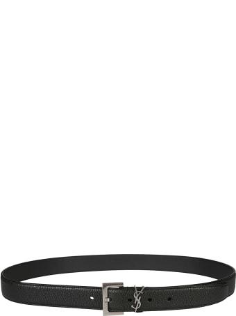 Saint Laurent Logo Loop Belt