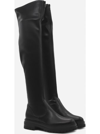 Gianvito Rossi Marsden Over-the-knee Boots In Imitation Leather