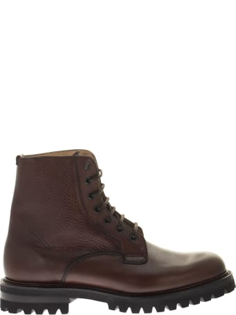 Church's Coalport 2 - Hammered Leather Lace-up Boot