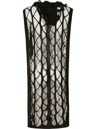 Rick Owens Perforated Sleeveless Top