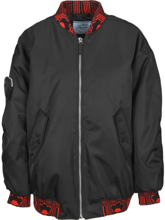 Prada Re-nylon Bomber Jacket