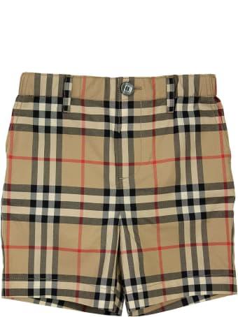 Burberry Sean - Vintage Check Cotton Poplin Tailored Shorts