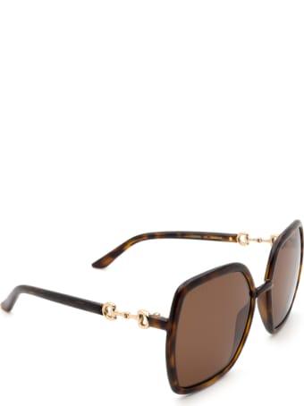 Gucci Gucci Gg0890s Havana Sunglasses