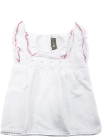 Little Bear White Cotton Dress