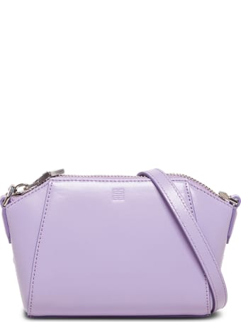 Givenchy Antigona Nano Crossbody Bag In Lilac Leather