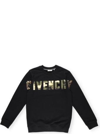 Givenchy Camouflage Logo Sweatshirt