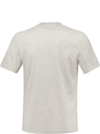 Brunello Cucinelli Cotton Jersey Slim Fit Crew Neck T-shirt