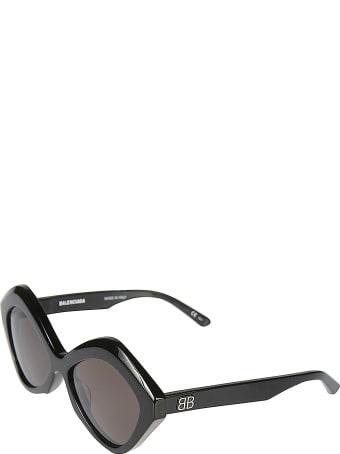 Balenciaga Logo Stamped Sunglasses