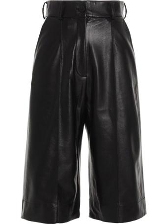 MATÉRIEL Eco Leather Shorts