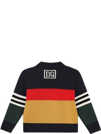 Dolce & Gabbana Multicolor Newborn Sweater