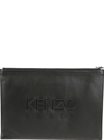 Kenzo Tiger Logo Clutch