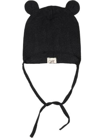 "Caffe' d'Orzo Black ""anita"" Hat For Babykids"