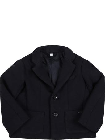 Armani Collezioni Blue Suit For Baby Boy