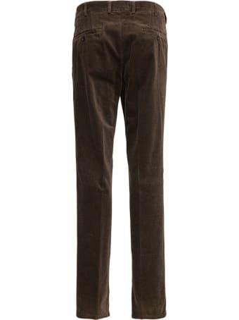 Aspesi Brown Velvet Trousers
