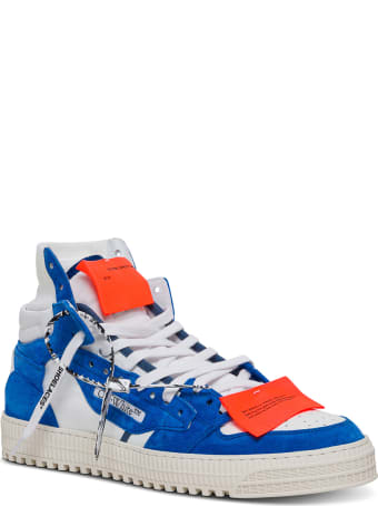 Off-White Off Curt Supreme Leather Sneakers
