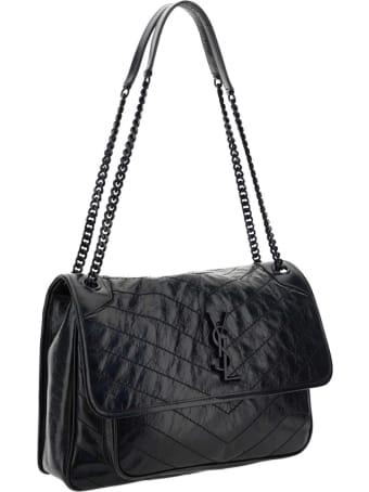 Saint Laurent Niki Quilted Shoulder Bag