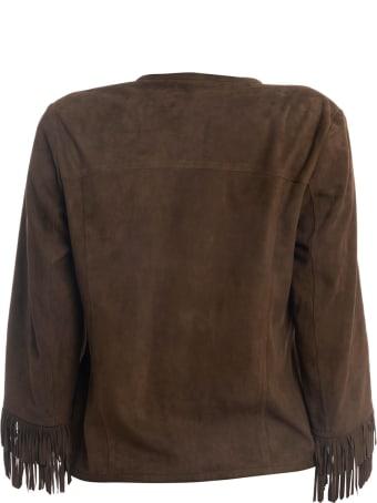La Reveuse Suede Jacket