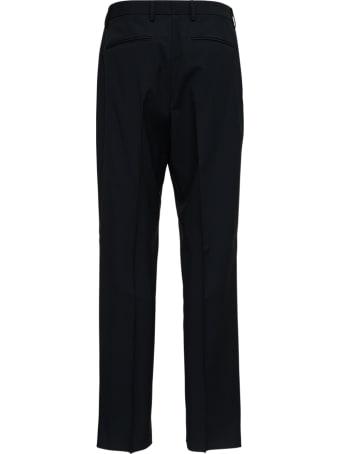Valentino Wide Leg Black Wool Pants