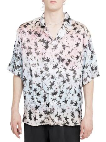 Mouty Pastel Palms Shirt