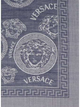 Young Versace 'medusa Dots' Shawl
