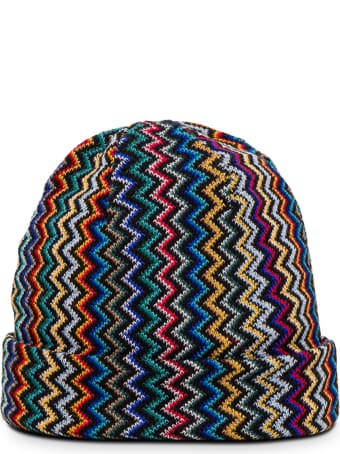 Missoni Zig Zag Wool Blend Hat