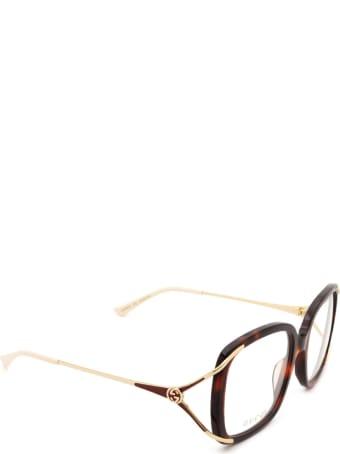 Gucci Gucci Gg0648o Havana Glasses