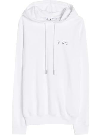 Off-White Woman White Palace Arrows Hoodie