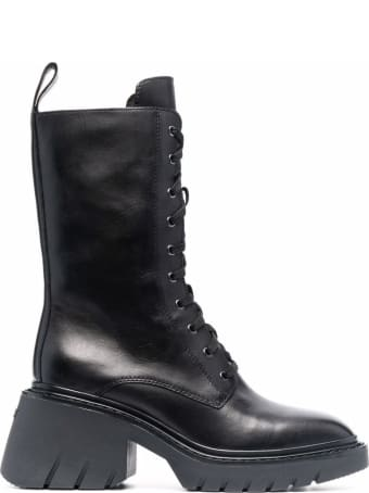 Ash Odessa Lace Up Heeled Boots