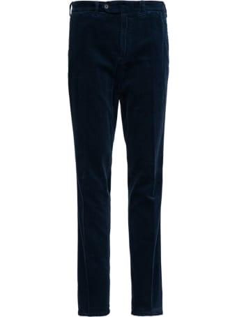 Aspesi Blue Velvet Trousers